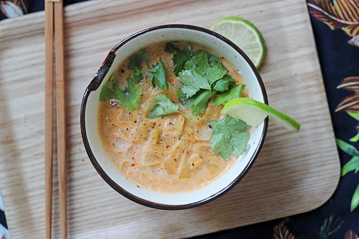 soupe-thai-vegetarienne