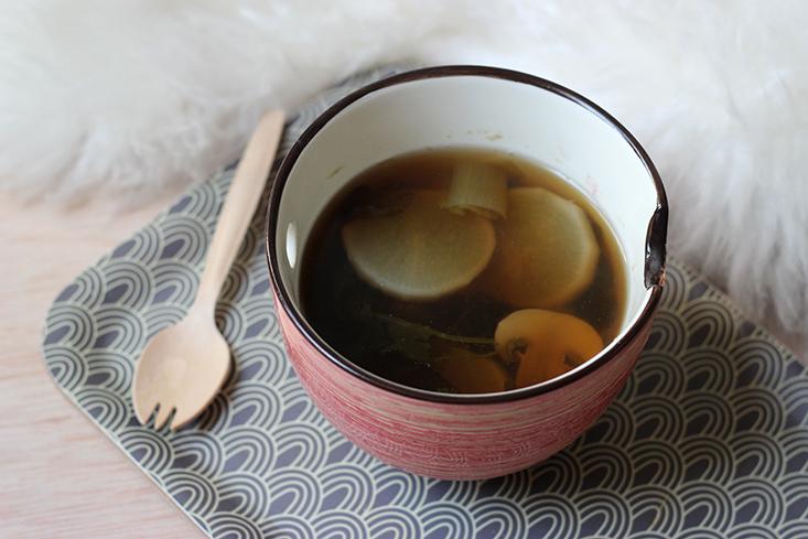 soupe japonaise recette