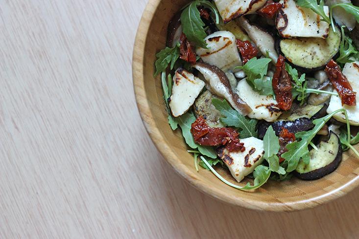 salade-halloumi-aubergine-shiitake2