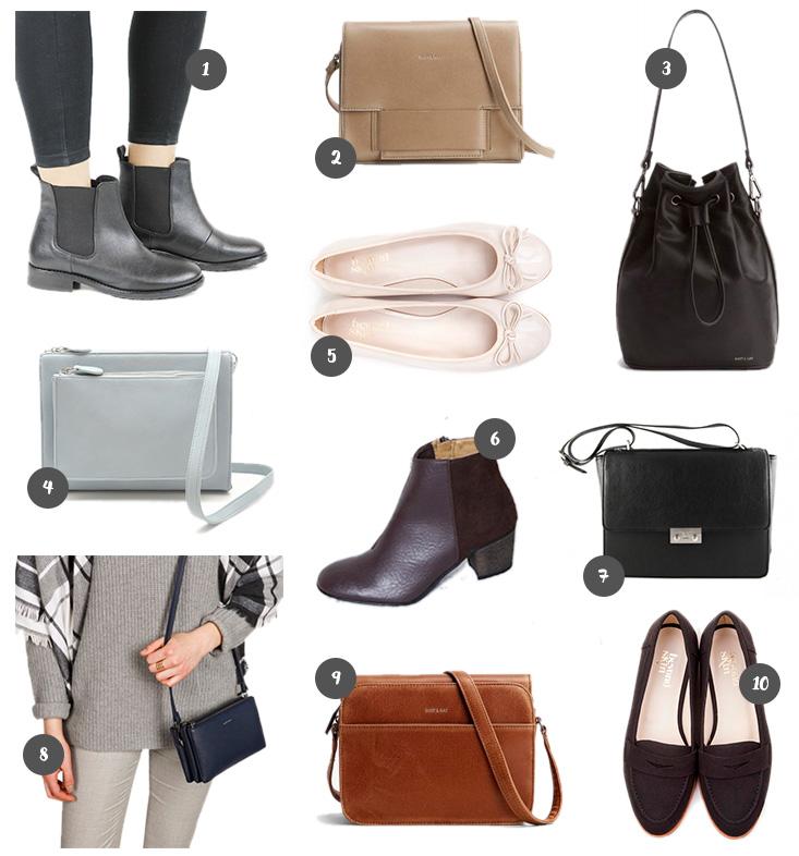 Shopping // Sacs & Chaussures Vegan - Mango and Salt