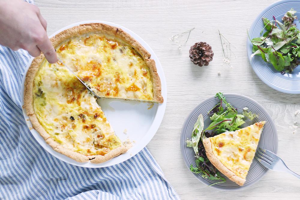 quiche-poireaux-gorgonzola