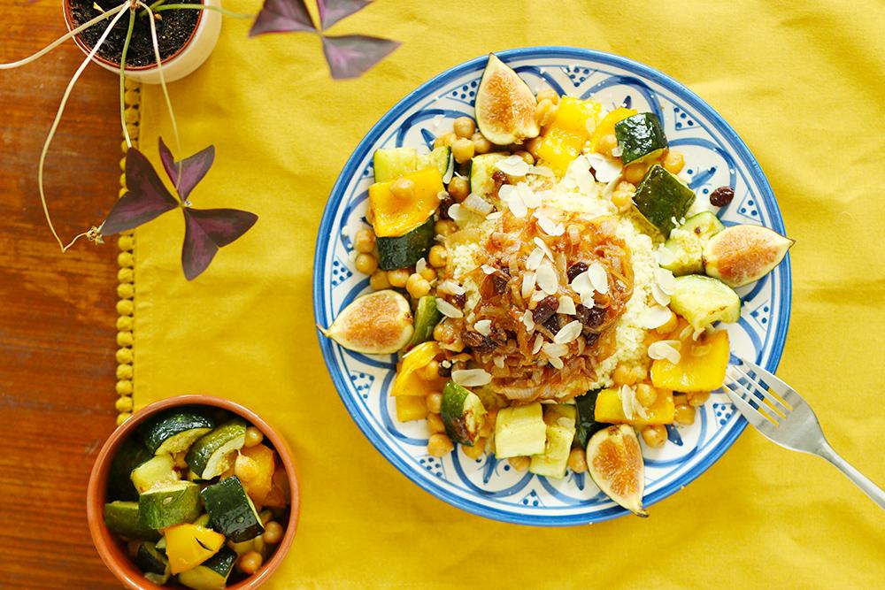 Couscous façon tfaya végétarien - Mango & Salt