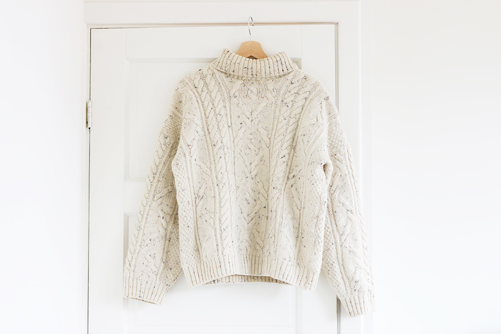 trouvailles-friperies-pull-aran-irlandais