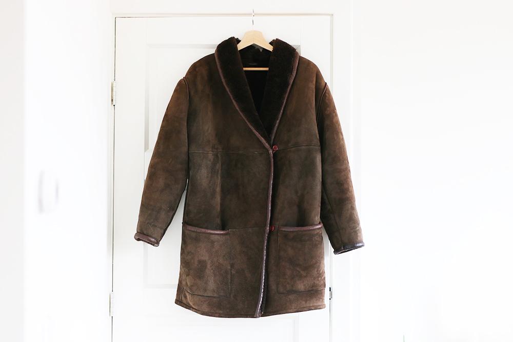 trouvailles-friperies-veste-peau-lainee
