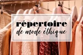 Répertoire de marques de mode éthique – Mango & Salt