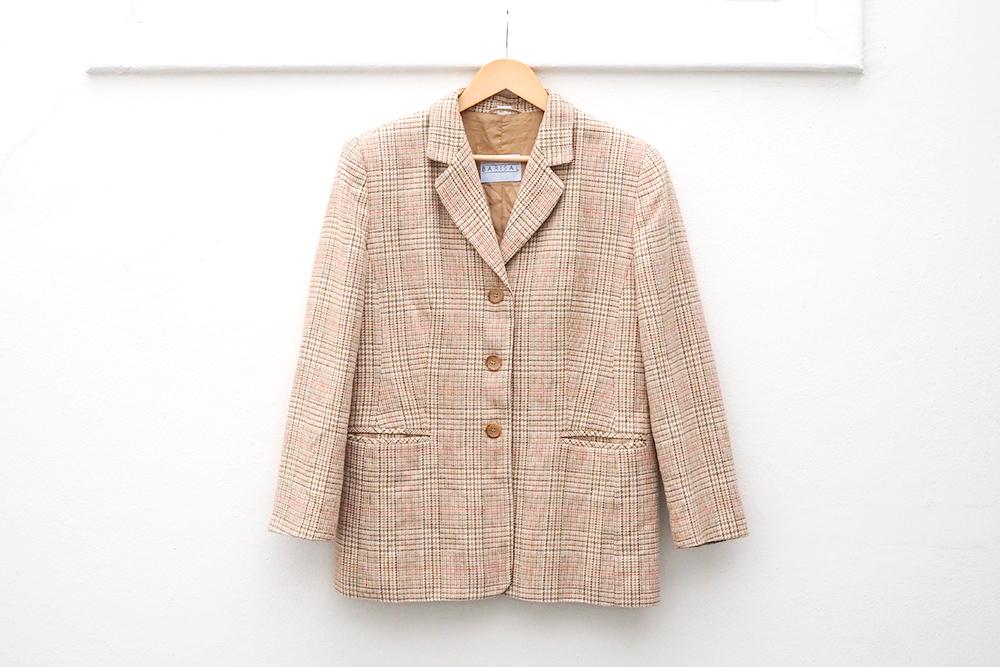 trouvailles-friperies-blazer-laine-carreaux