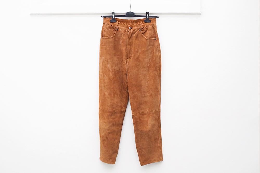 trouvailles-friperies-pantalon-daim