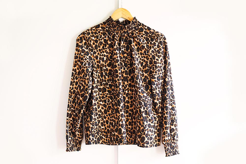 acheter-vinted-haul-blouseleopard